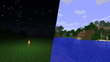 Old Lighting & Old Water Minecraft Texture Pack