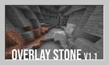 Overlay Stone Minecraft Texture Pack