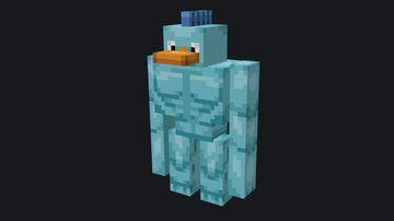 Fishbunjin over Iron Golem (Optifine) Minecraft Texture Pack