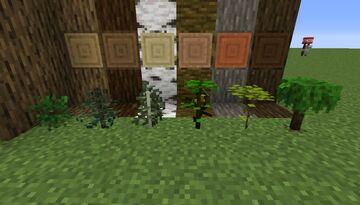 3D Saplings Minecraft Texture Pack