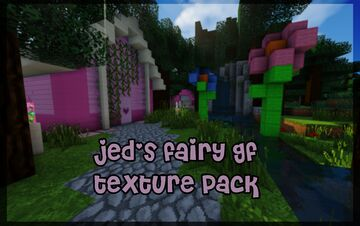 jed's fairy gf pack (1.8 - 1.16) Minecraft Texture Pack