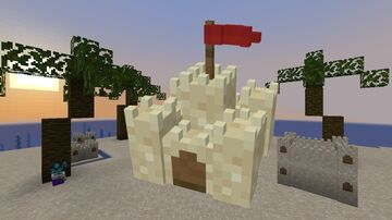 Sand Castles Minecraft Texture Pack