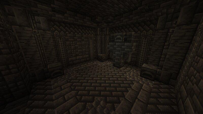 Room utilising all Deepslate variants