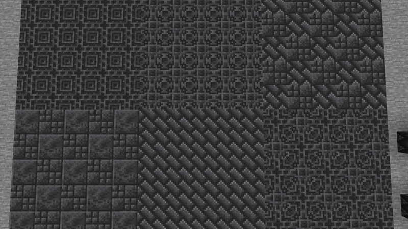 A variety of flooring options using the new textures