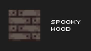 Spooky Wood Minecraft Texture Pack