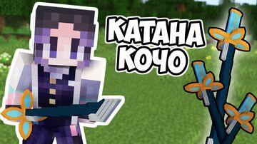 Shinobu Kocho Katana Minecraft Texture Pack