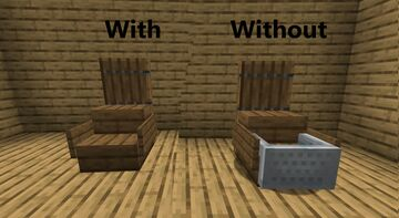 Invisble Minecarts Minecraft Texture Pack