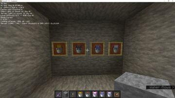 Colored Axolotl Buckets for Faithful Minecraft Texture Pack