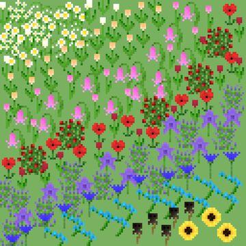 Pretty Flowers Minecraft Texture Pack