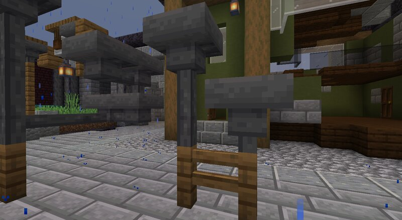 Fixed the hoppers clipping with fences