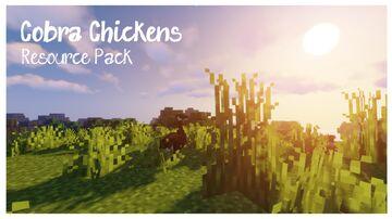 Cobra Chickens 1.16.5 Minecraft Texture Pack