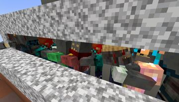 Ivango's random zombie Minecraft Texture Pack