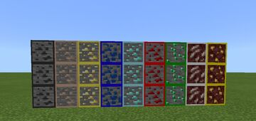 Outlined Ores Texture pack For Minecraft Java 1.16.2 - 1.16.5 Minecraft Texture Pack