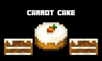 Carrot Cake Minecraft Texture Pack