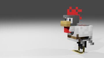 MisterGriimm's Battle Chicken Minecraft Texture Pack