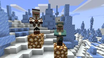 Come to the mountains! / read the description 1.17.1 Minecraft Texture Pack