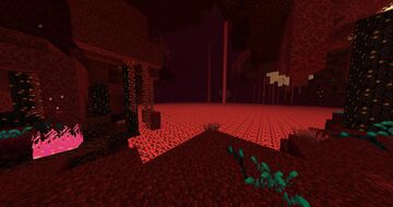 Overgrowth Addon: Diverse Nether Biomes Minecraft Texture Pack