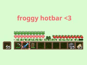 Froggy Hotbar Minecraft Texture Pack