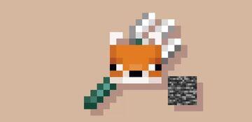 Bedrock Fox Trident Minecraft Texture Pack