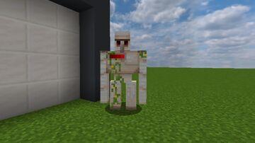Iron Golem Health Bar Minecraft Texture Pack