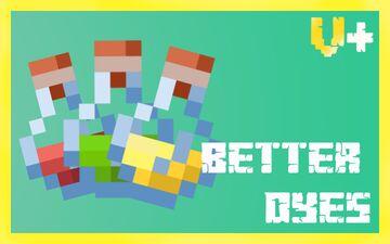 Better Dyes - Vanilla Plus Minecraft Texture Pack