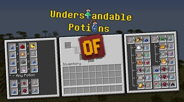 Understandable Potions: Major Update Minecraft Texture Pack