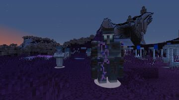 EnderVision! See In Negative (OPTIFINE REQUIRED FOR BEST RESULT) Minecraft Texture Pack