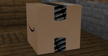 Shulkerboxes to Amazon Delivery Boxes Minecraft Texture Pack