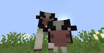 Slightly Vanilla Cows Minecraft Texture Pack
