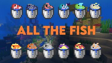 All The Fish Minecraft Texture Pack