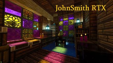 Unofficial JohnSmith RTX conversion Minecraft Texture Pack