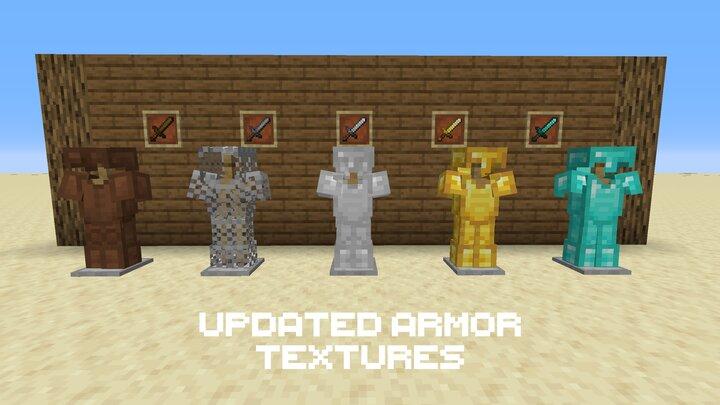New armor textures now look stunning.