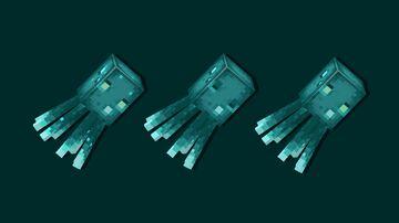 Animated Glow Squid Minecraft Texture Pack