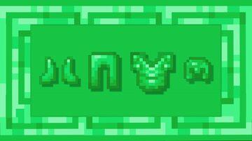 Emerald Netherite - Door Minecraft Texture Pack