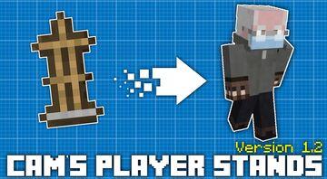 Cam's Player Stands [Version 1.2 - Fun & Games Update] Minecraft Texture Pack