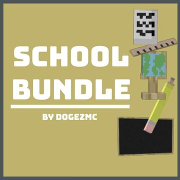 [1.16.5+] School Bundle [3D] - No Optifine Required Minecraft Texture Pack