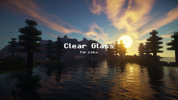 Clear Glass ( all ) [1.16.x] Minecraft Texture Pack