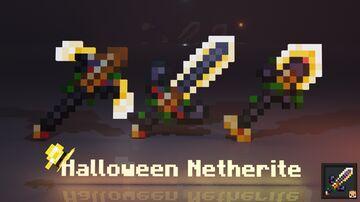 Halloween Netherite Pack Minecraft Texture Pack