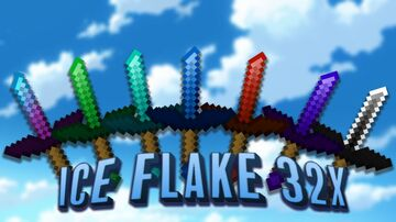 ❄ Ice Flake 32x ❄ + Recolors   Texture Pack Release 1.8.9 PvP Minecraft Texture Pack