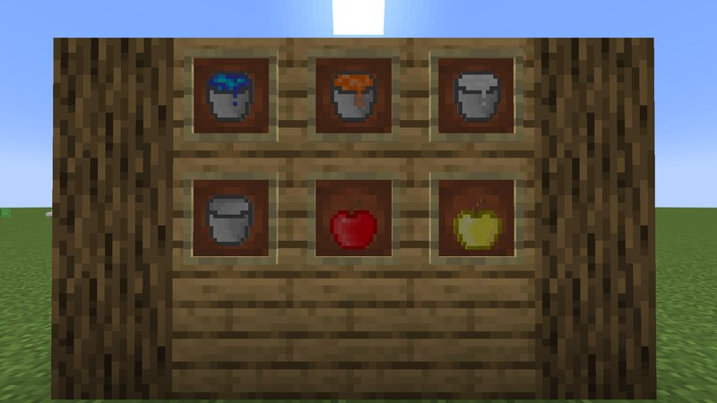 Apples and buckets