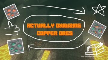 Actually Oxidizing Copper Minecraft Texture Pack