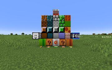 Super Mario Bros. Texture Pack Minecraft Texture Pack