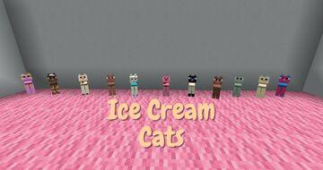 Ice Cream Cats Minecraft Texture Pack