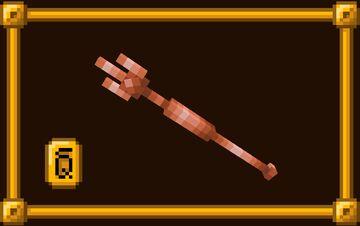 Copper Trident [OptiFine] Minecraft Texture Pack