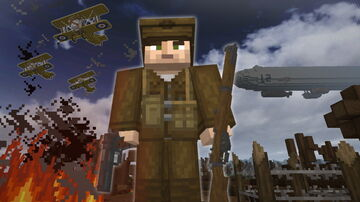 World War I Addon (1.17.1)(1.16.5) Minecraft Texture Pack