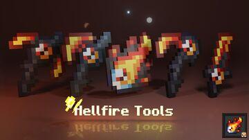 Hellfire Tools (Java & Bedrock) Minecraft Texture Pack