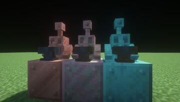 Copper Golem Anvil Minecraft Texture Pack