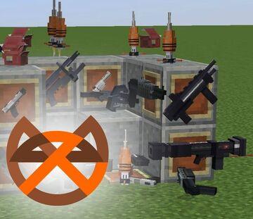 Weapons 1.16.5 Half-life in Minecraft from Zvyalka vRP - Beta0.2.3 Оружие из Халф-лайф 2 в майнкрафт. Minecraft Texture Pack