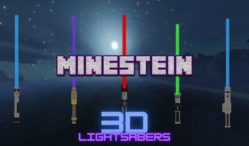 Minestein's 3D Lightsabers Minecraft Texture Pack