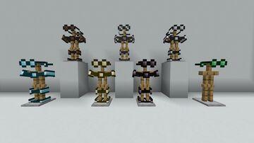 Nonobtrusive Armor Minecraft Texture Pack